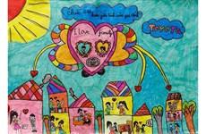 Lanzan en Vietnam un concurso de pintura infantil
