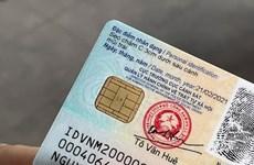 Integran datos importantes en tarjeta de identificación ciudadana de Vietnam