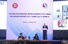 Inauguran Reunión de Altos Funcionarios ASEAN+3 sobre minería
