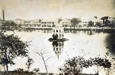 Historia del emblemático lago Hoan Kiem contada a través de fotos y documentos