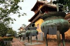 Prepara Vietnam documentos para solicitar reconocimiento de UNESCO a calderos de trípode de Hue