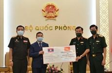Ministerio de Defensa de Vietnam apoya a Laos en lucha contra el COVID-19