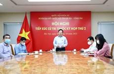 Viceprimer ministro de Vietnam dialoga con votantes de provincia de Ba Ria-Vung Tau