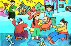 Lanzan en Vietnam concurso asiático de pintura Enikki Mitsubishi