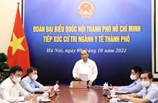 Presidente de Vietnam insta a no bajar la guardia ante el COVID-19
