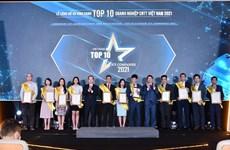 Vietnam honra a mejores empresas de tecnología de la información en 2021