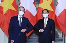Vietnam-Suiza: 50 años de relaciones diplomáticas