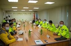 Embajador vietnamita inspecciona actividades de la empresa mixta Rusvietpetro