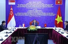 Vietnam y Singapur por fomentar cooperación en ciberseguridad