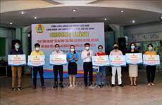 Ciudad Ho Chi Minh obsequia bolsas de bienestar social a trabajadores desfavorecidos