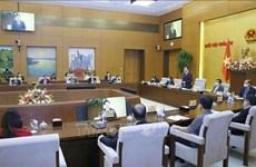 Presidente del Parlamento de Vietnam se reúne con ejecutivos de empresas ejemplares de ciencia y tecnología