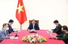 Primer ministro de Vietnam mantiene conversación telefónica con vicepresidente turco