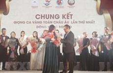 Concurso de canto fomenta conectividad de la comunidad vietnamita en Europa