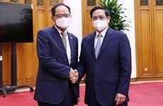 Primer ministro vietnamita pide a Corea del Sur mantener apoyo en lucha contra el COVID-19