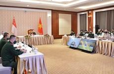 Efectúan Vietnam y Singapur duodécimo diálogo de política de defensa