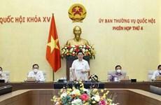 Clausuran cuarta reunión del Comité Permanente de la Asamblea Nacional de Vietnam