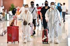 Instala aeropuerto de Noi Bai en Hanoi sistemas modernos para prevenir COVID-19
