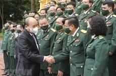 Presidente vietnamita elogia logros y responsabilidad social de veteranos