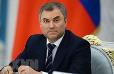 Vietnam felicita a líderes de parlamentos de Rusia y Marruecos