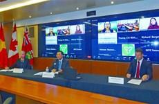 Vietnam y Canadá promuevan cooperación en cadena de suministro