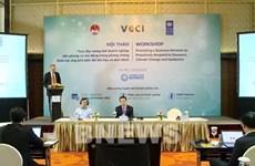 Destacan contribución de empresas vietnamitas a lucha contra desastres naturales