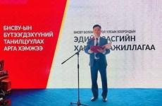 Presentan productos de Vietnam a empresas mongolas