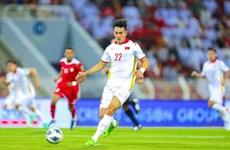 Nombran a delantero vietnamita mejor jugador de octubre en eliminatorias de Copa Mundial 2022
