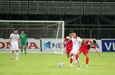 Vence Vietnam a Kirguistán en partido amistoso de fútbol