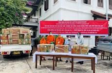 Sangha Budista de Vietnam brinda asistencia a seguidores laosianos en medio del COVID-19