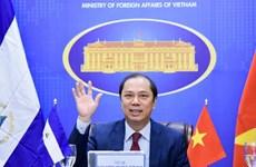 Vietnam y Nicaragua efectúan primera consulta política a nivel de vicecanciller
