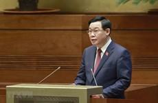 Concluye Parlamento vietnamita primera jornada de trabajo del segundo periodo de sesiones