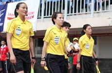 Árbitra vietnamita preparada para la Copa Mundial de fútbol femenino 2023