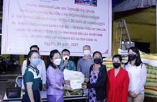 Comunidad vietnamita en Laos muestra solidaridad en medio del COVID-19