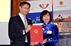 Nombran a primer cónsul honorario de Vietnam en Suiza