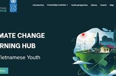 Lanzan portal sobre cambio climático para jóvenes vietnamitas
