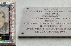 Efectúan en Paris 80 aniversario de fallecimiento del soldado antifascista vietnamita