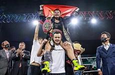 Boxeadora vietnamita se corona campeona mundial de la OMB