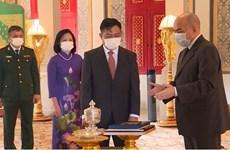 Destaca rey camboyano relaciones de cooperación integral con Vietnam