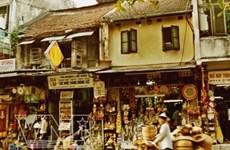 Exploremos la calle de Hang Quat en el barrio antiguo de Hanoi