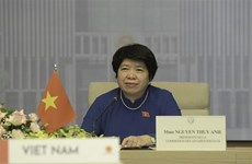 Asamblea Nacional de Vietnam colabora con parlamentos francófonos en promoción de derechos humanos