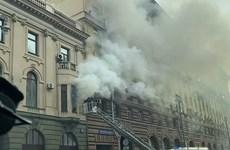 Sin víctimas en incendio del edificio de la Oficina de Comercio de Vietnam en Moscú