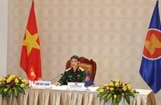 Vietnam participa en reunión de altos funcionarios de defensa de la ASEAN