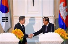 Corea del Sur y Camboya firman acuerdo de libre comercio bilateral