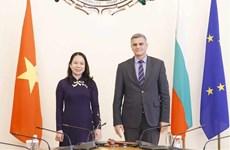 Vietnam busca fortalecer cooperación multifacética con Bulgaria