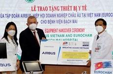 EuroCham patrocina equipos médicos para apoyar a Vietnam en la lucha contra el COVID-19