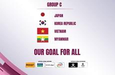 Sorteo coloca a Vietnam en el grupo C de la Copa Asiática femenina 2022