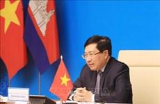 Fomentan cooperación entre provincias fronterizas de Vietnam y Camboya