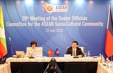Países de la ASEAN prosiguen con el plan de su Comunidad Sociocultural para 2025