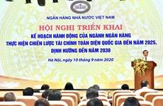 Vietnam promueve implementación de estrategia financiera integral