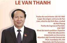 Le Van Thanh, nuevo viceprimer ministro de Vietnam